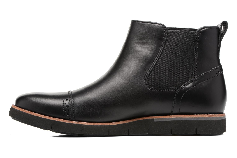 Bottines et boots Timberland Preston Hill Chelsea Noir vue face