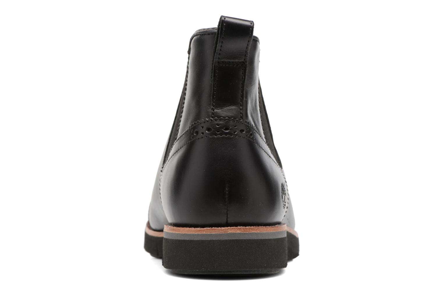 Ankle boots Timberland Preston Hill Chelsea Black view from the right