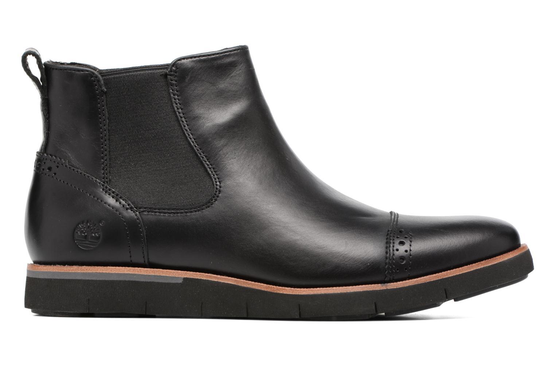 Bottines et boots Timberland Preston Hill Chelsea Noir vue derrière