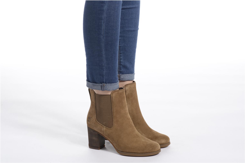 Bottines et boots Timberland Atlantic Heights Che Marron vue bas / vue portée sac