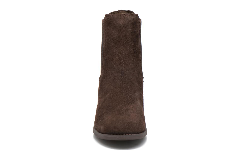 Bottines et boots Timberland Atlantic Heights Che Marron vue portées chaussures