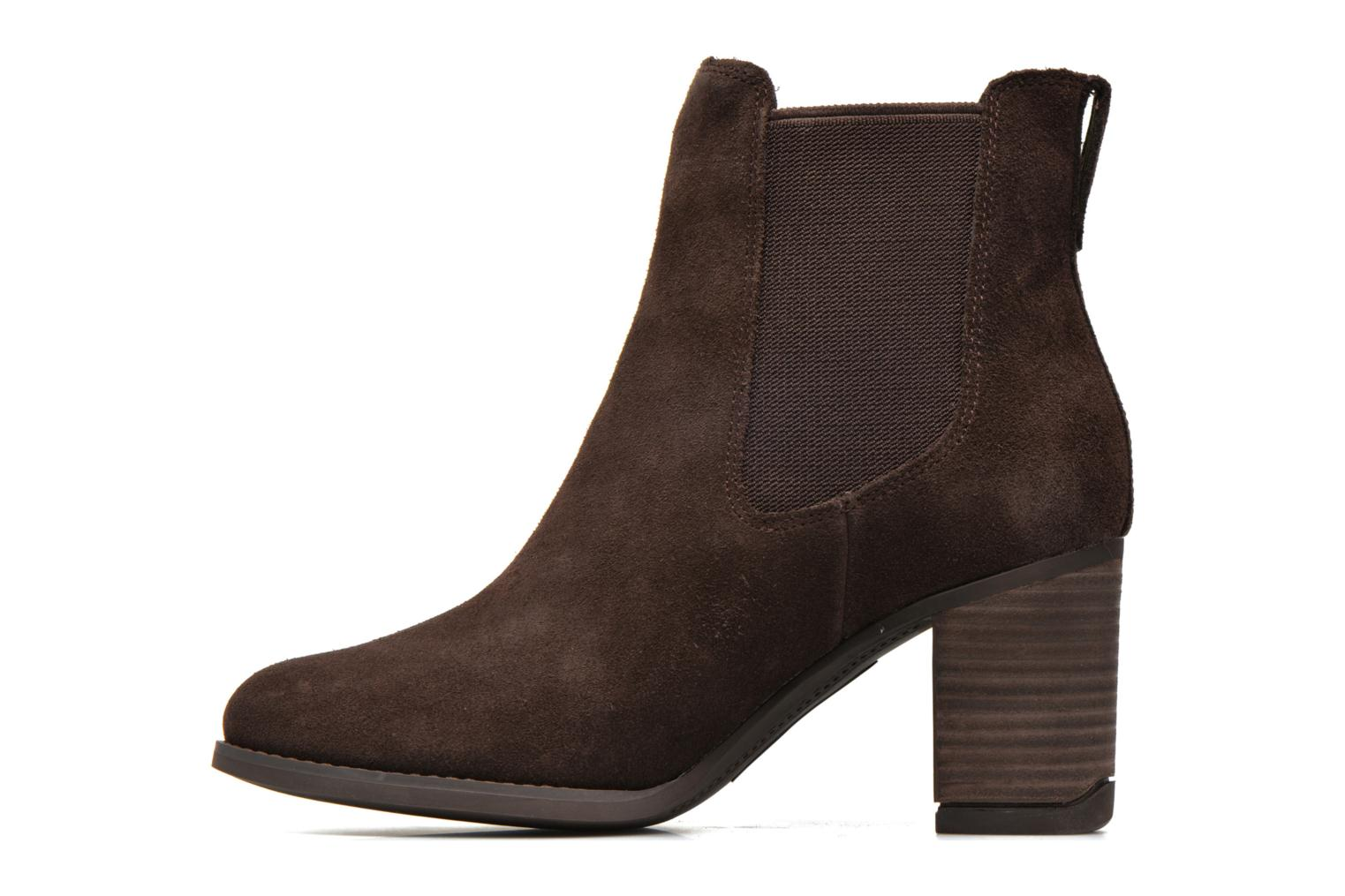 Bottines et boots Timberland Atlantic Heights Che Marron vue face