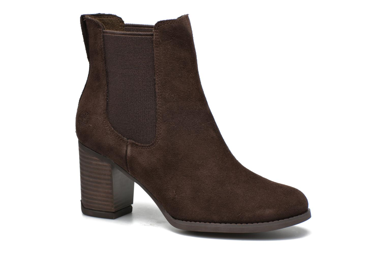 Bottines et boots Timberland Atlantic Heights Che Marron vue détail/paire