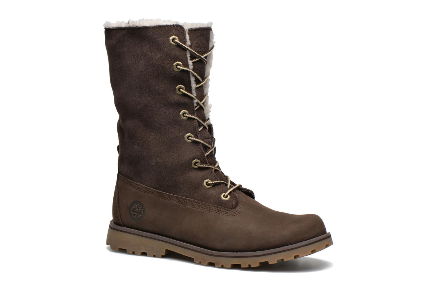 Bottines et boots Timberland 6 In WP Shearling Bo Marron vue 3/4