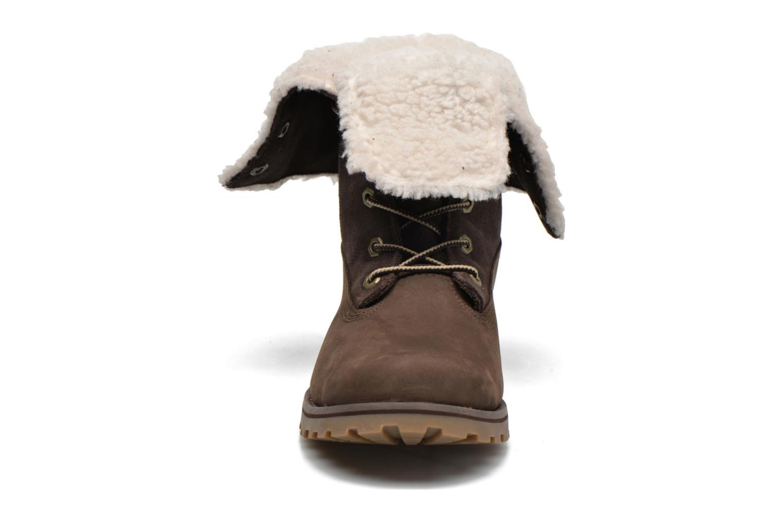 Stiefeletten & Boots Timberland 6 In WP Shearling Bo braun schuhe getragen