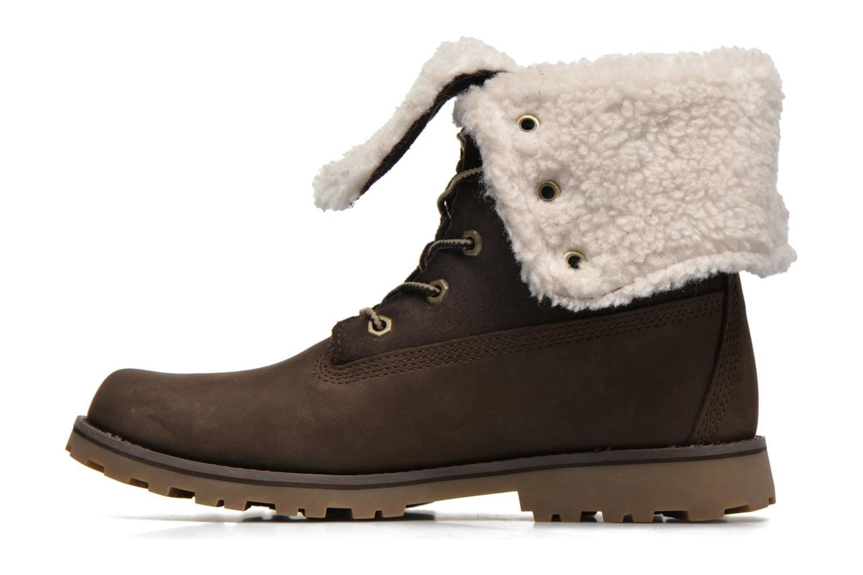 Stiefeletten & Boots Timberland 6 In WP Shearling Bo braun ansicht von vorne