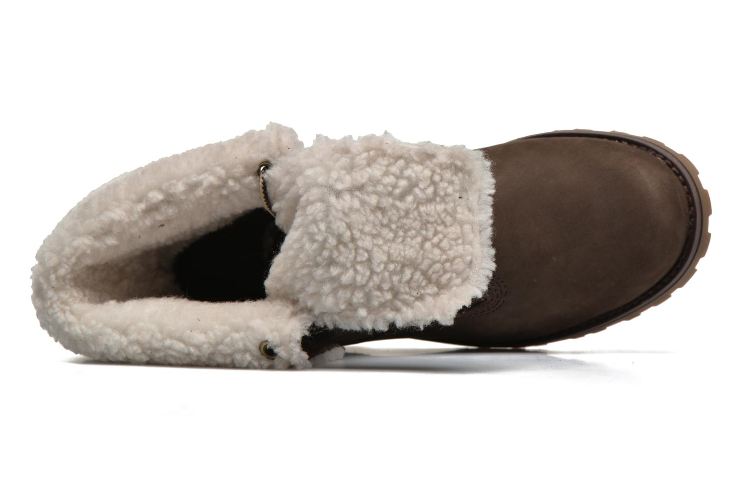 6 In WP Shearling Bo Brown