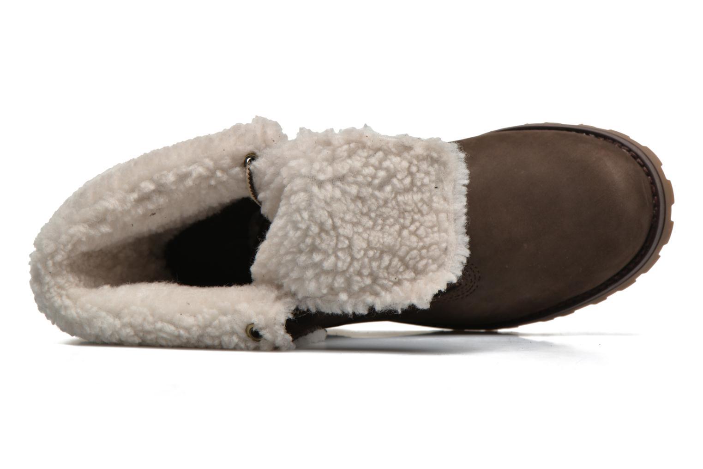 Stiefeletten & Boots Timberland 6 In WP Shearling Bo braun ansicht von links