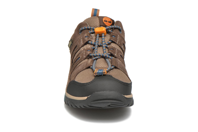 Baskets Timberland Zip Trail GTX Ox Marron vue portées chaussures