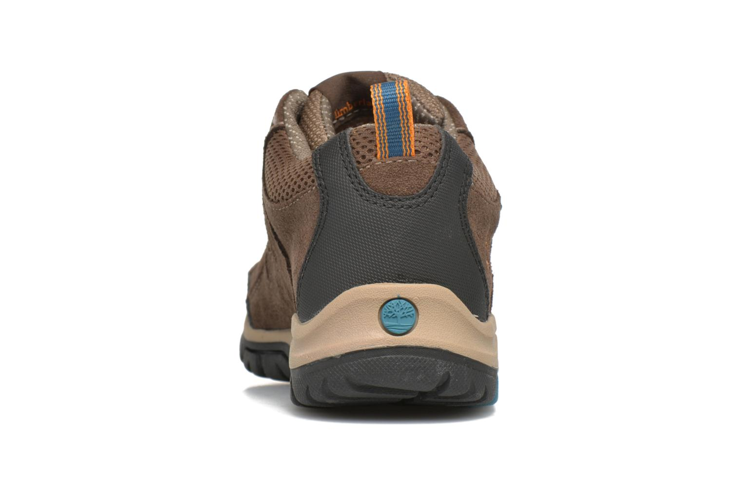 Trainers Timberland Zip Trail GTX Ox Brown view from the right
