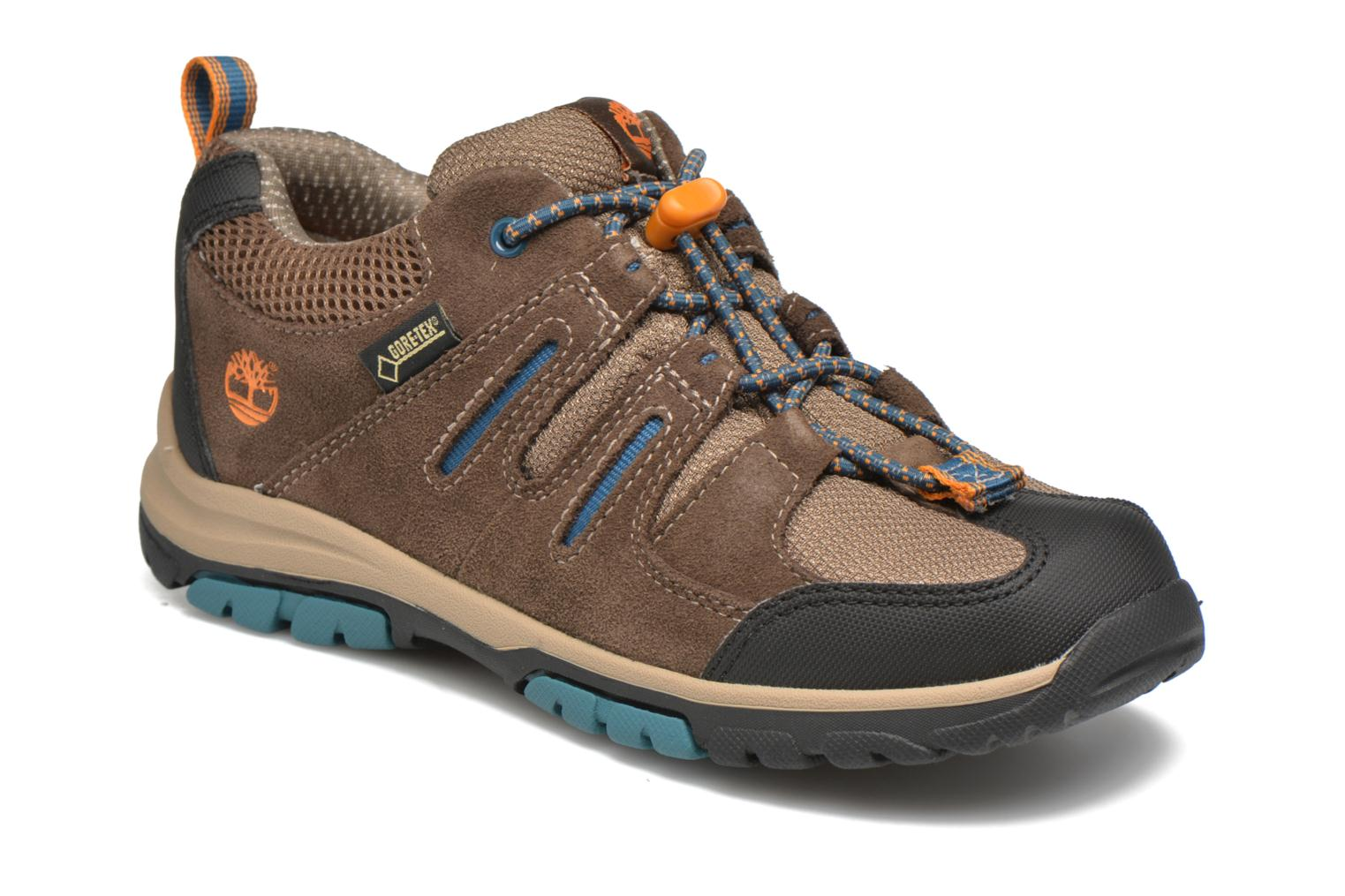 Trainers Timberland Zip Trail GTX Ox Brown detailed view/ Pair view