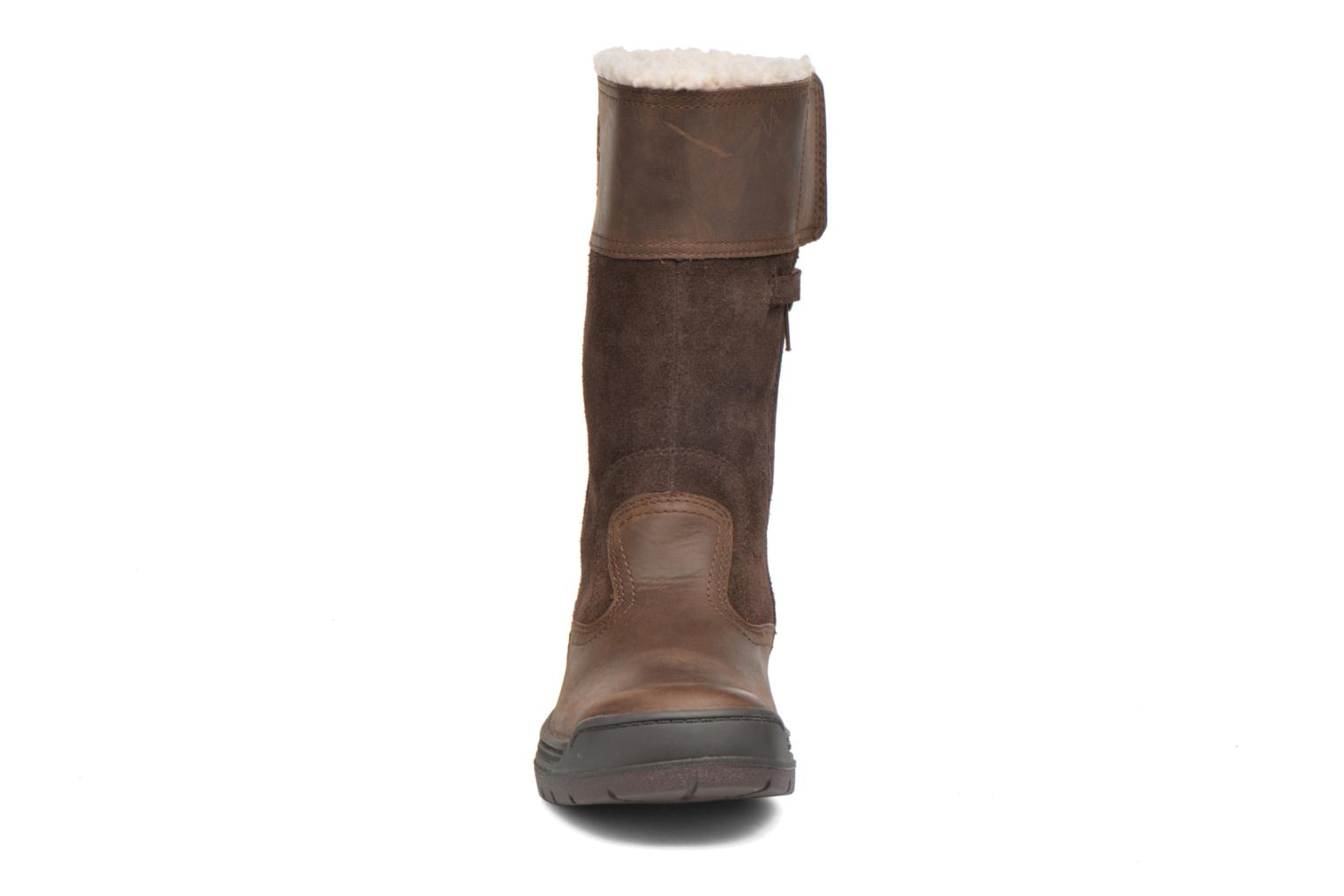 Bottes Timberland Ramble Wild Tall Boo Marron vue portées chaussures