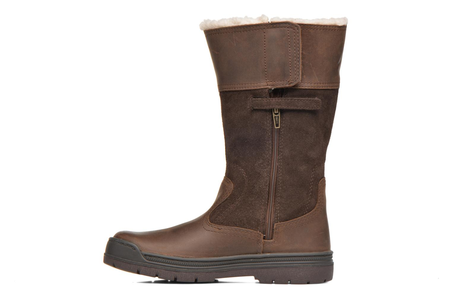 Boots & wellies Timberland Ramble Wild Tall Boo Brown front view
