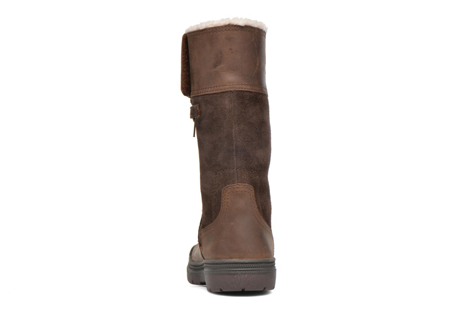 Boots & wellies Timberland Ramble Wild Tall Boo Brown view from the right