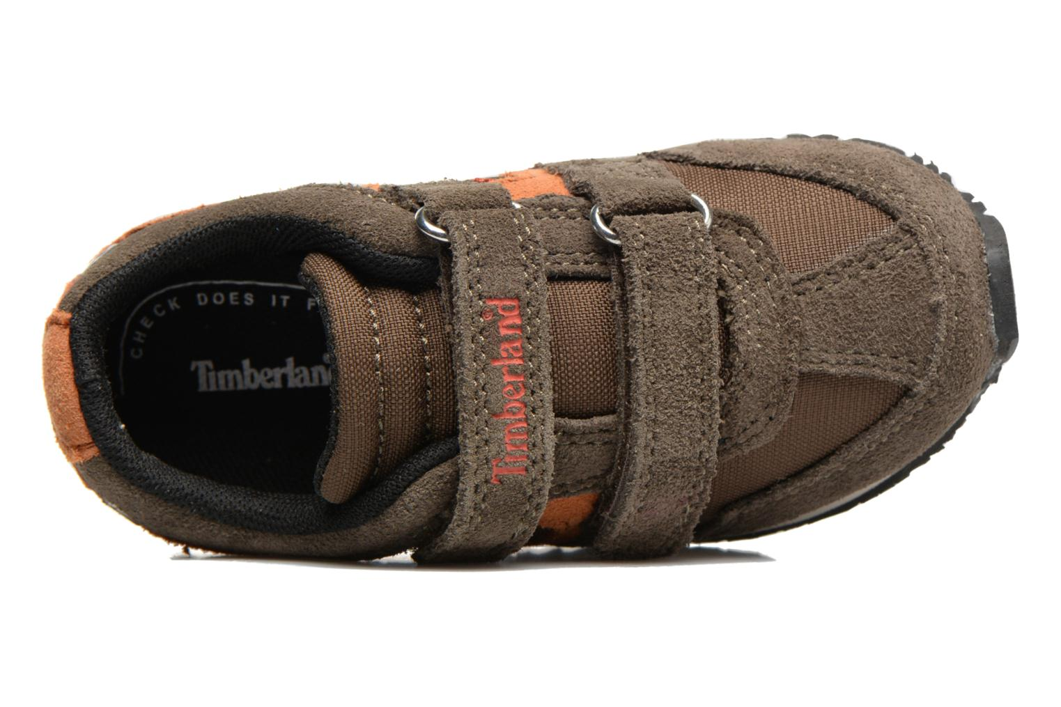 Baskets Timberland Penhallow H L Ox Marron vue gauche