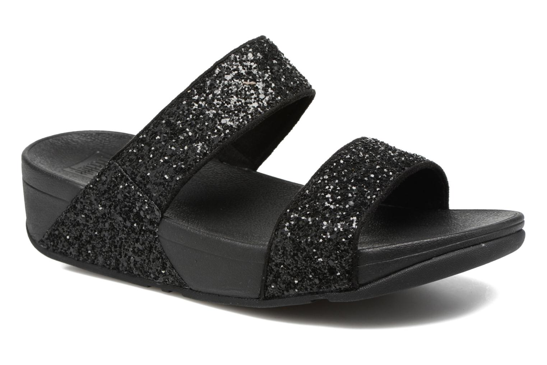 Glitterball Slide Black Glitter