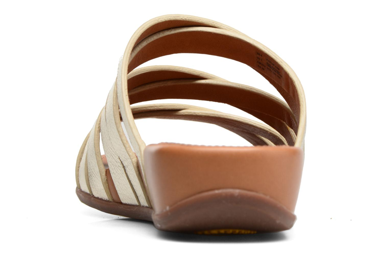 Mules et sabots FitFlop Lumy Leather Slide Or et bronze vue droite