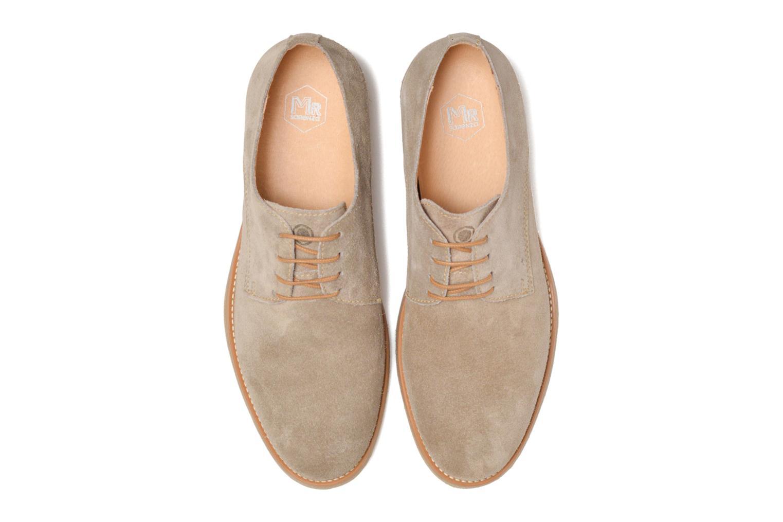 Chaussures à lacets Mr SARENZA Soldn Beige vue portées chaussures