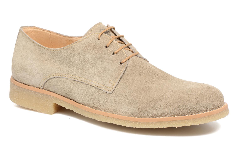 Chaussures à lacets Mr SARENZA Soldn Beige vue droite