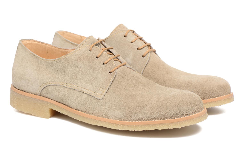 Chaussures à lacets Mr SARENZA Soldn Beige vue derrière