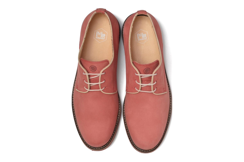 Chaussures à lacets Mr SARENZA Steyr Rouge vue portées chaussures