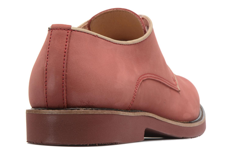 Chaussures à lacets Mr SARENZA Steyr Rouge vue face