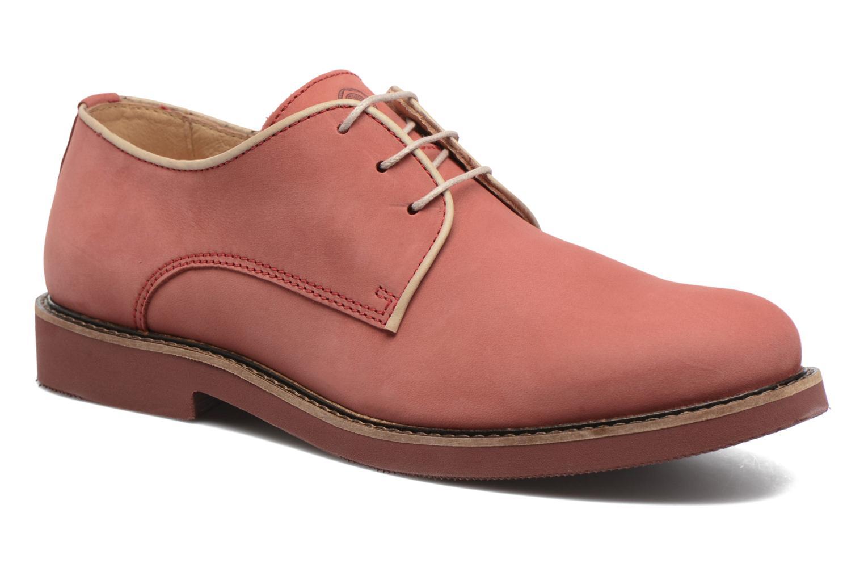 Chaussures à lacets Mr SARENZA Steyr Rouge vue droite