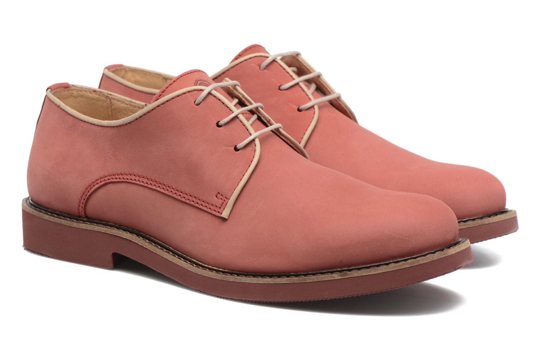 Chaussures à lacets Mr SARENZA Steyr Rouge vue derrière