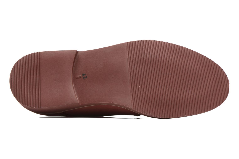Chaussures à lacets Mr SARENZA Steyr Rouge vue haut
