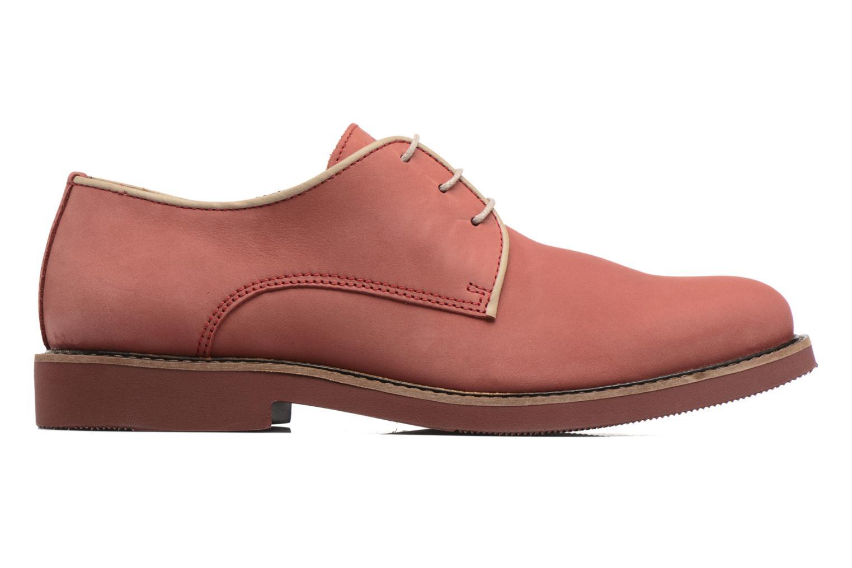 Chaussures à lacets Mr SARENZA Steyr Rouge vue détail/paire