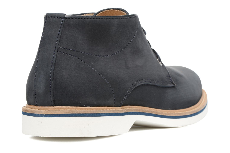 Bottines et boots Mr SARENZA Sandness Bleu vue face