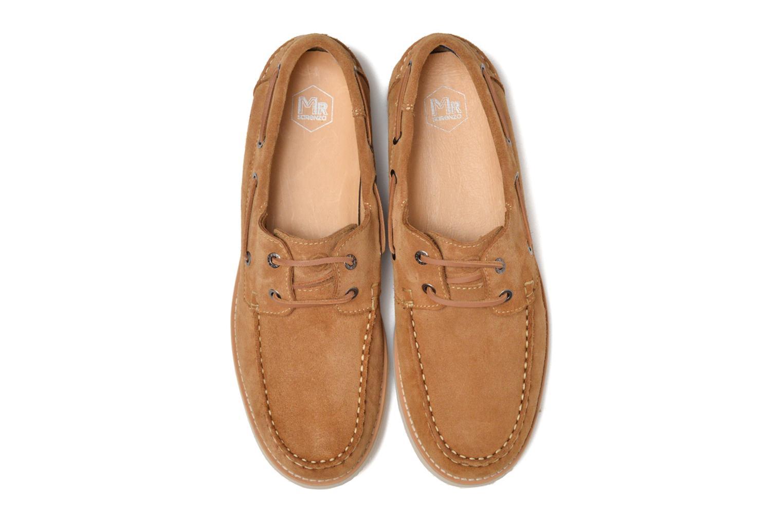 Chaussures à lacets Mr SARENZA Stavan Marron vue portées chaussures