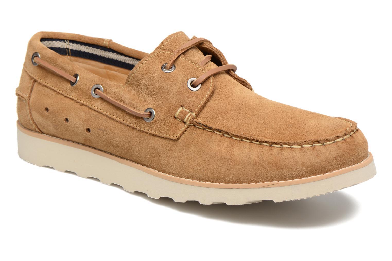 Chaussures à lacets Mr SARENZA Stavan Marron vue droite