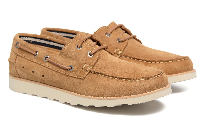 Chaussures à lacets Mr SARENZA Stavan Marron vue derrière