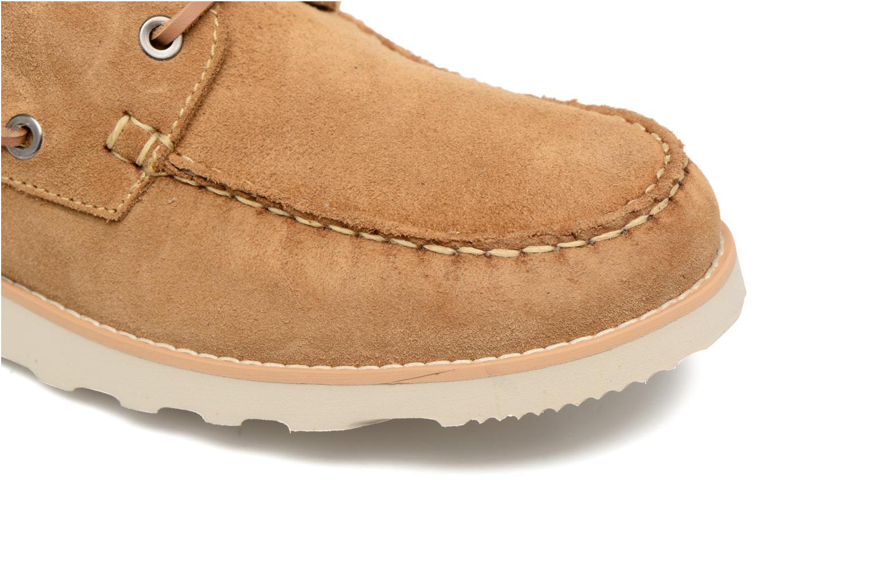 Chaussures à lacets Mr SARENZA Stavan Marron vue gauche