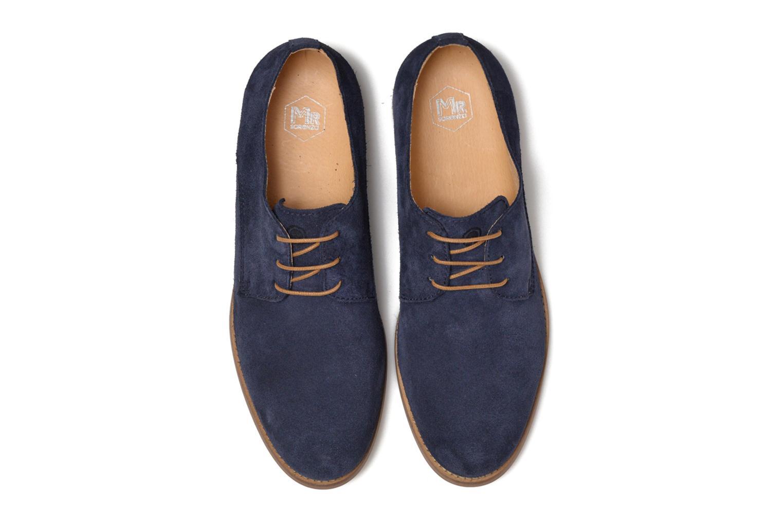 Chaussures à lacets Mr SARENZA Sallique Bleu vue portées chaussures
