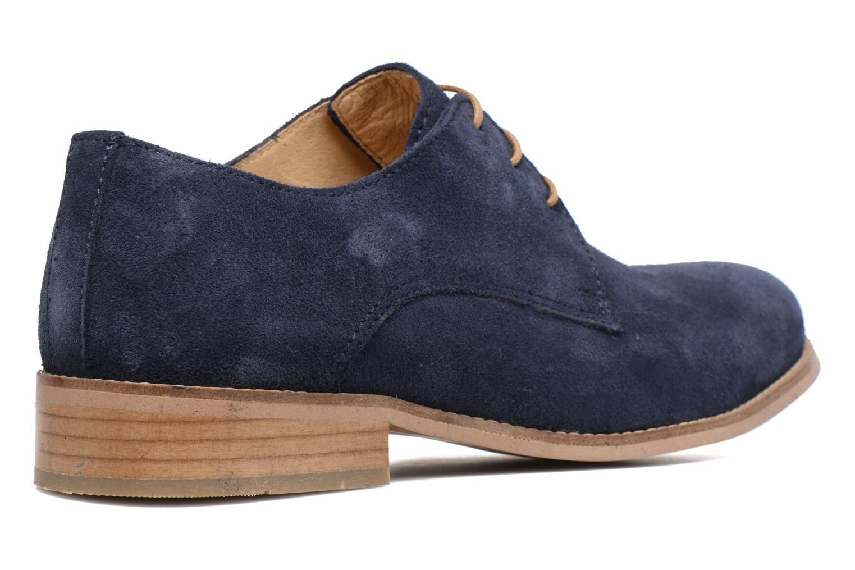 Chaussures à lacets Mr SARENZA Sallique Bleu vue face