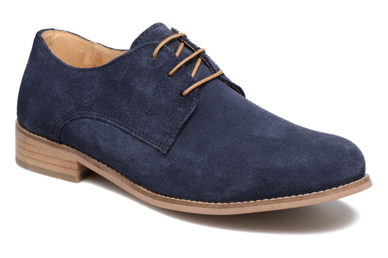Chaussures à lacets Mr SARENZA Sallique Bleu vue droite