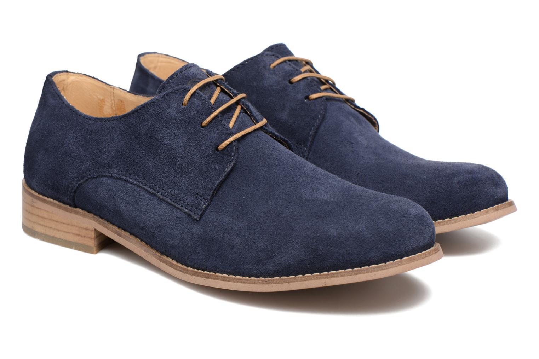 Chaussures à lacets Mr SARENZA Sallique Bleu vue derrière