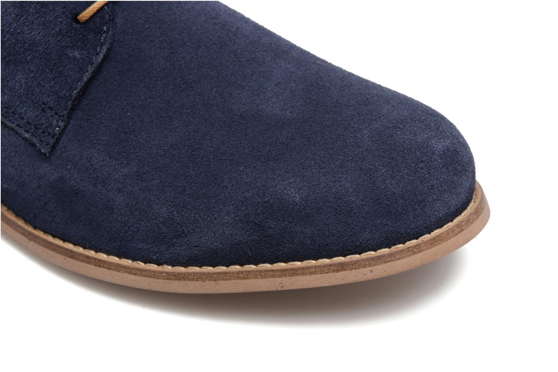 Chaussures à lacets Mr SARENZA Sallique Bleu vue gauche