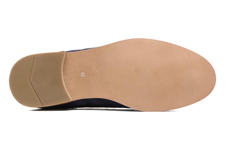 Chaussures à lacets Mr SARENZA Sallique Bleu vue haut