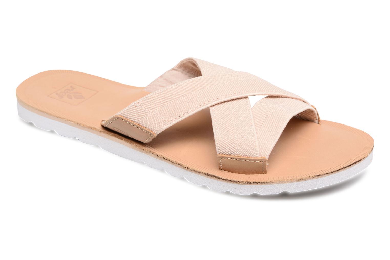 Zapatos promocionales Reef Reef Voyage Slide (Beige) - Zuecos   Los zapatos más populares para hombres y mujeres