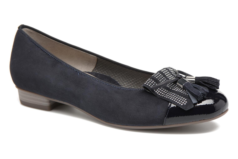 Grandes descuentos últimos zapatos Ara Bari 33727 (Azul) - Bailarinas Descuento
