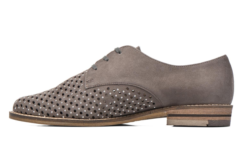 Chaussures à lacets Ara Kent 31202 Gris vue face