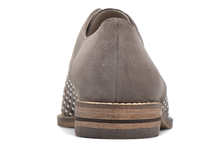 Chaussures à lacets Ara Kent 31202 Gris vue droite