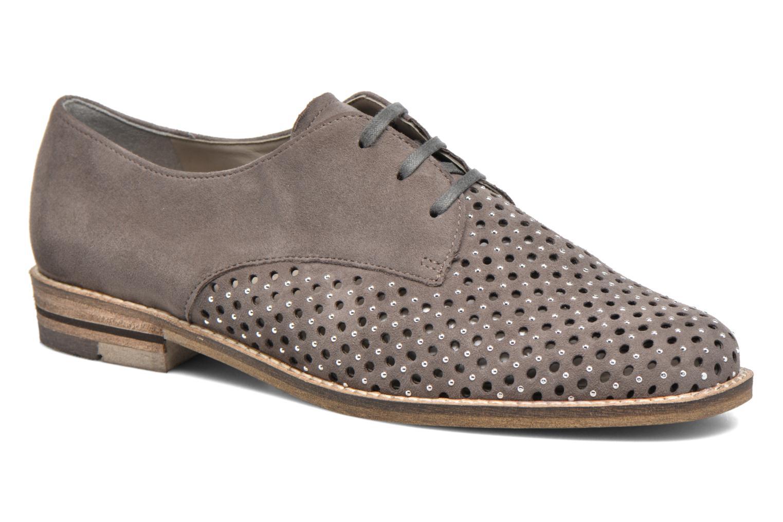 Chaussures à lacets Ara Kent 31202 Gris vue détail/paire