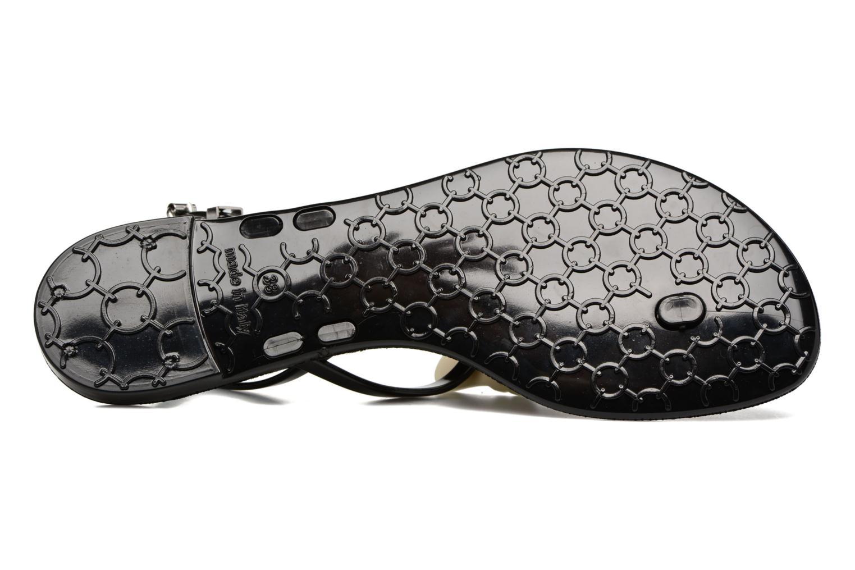 Sandales et nu-pieds Karl Lagerfeld Karl Choupette Sandal Noir vue haut