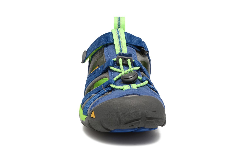 Sandali e scarpe aperte Keen Seacamp ll CNX Azzurro modello indossato