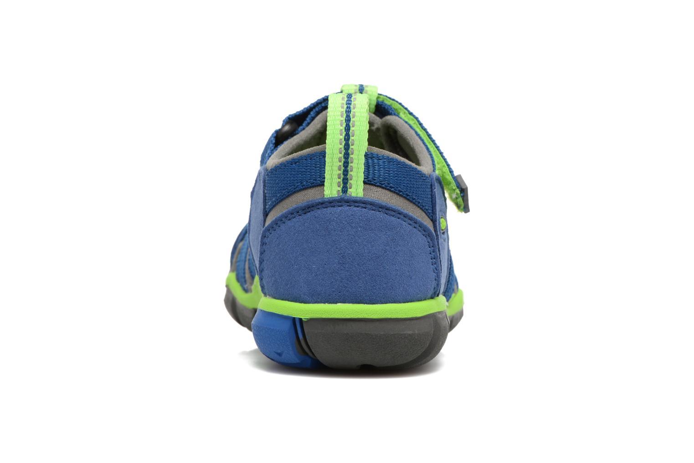 Sandali e scarpe aperte Keen Seacamp ll CNX Azzurro immagine destra