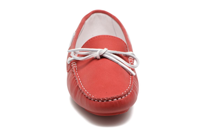 Chaussures à lacets TBS Bettsy Rouge vue portées chaussures